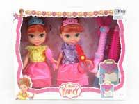 8inch Doll Set(2in1)