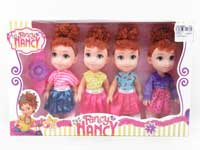 6inch Doll Set(4in1)