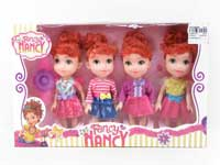 6inch Doll Set(4in1)
