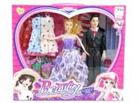 11.5inch Doll Set(2in1)