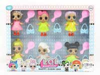 2.5inch Doll Set(6in1)
