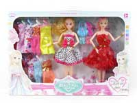 11.5inch Doll Set(2in1)