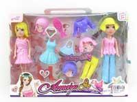 7inch Doll Set(2in1)