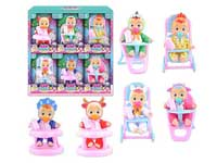 6inch Doll Set(6in1)