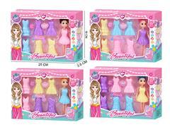 7inch Doll Set(4C)