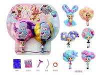 4inch Doll Set(2in1)