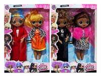9inch Doll Set(2in1)