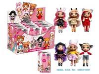 7inch Doll Set(12in1)