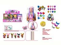 6inch Doll Set(12in1)