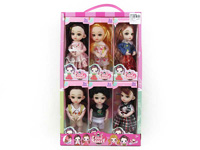 6inch Doll(6in1)