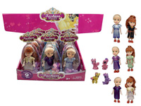 6inch Doll Set(9in1) toys