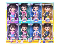 7inch Doll(8in1) toys
