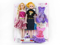 Doll Set(2in1) toys