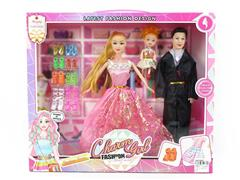3in1 Doll Set toys