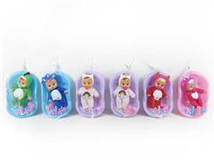6inch Doll Set & Tub(6S)