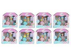 4.5inch Doll Set(8S) toys