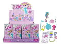 4.5inch Doll Set(16in1) toys