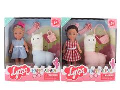 4.6inch Doll Set(2S) toys