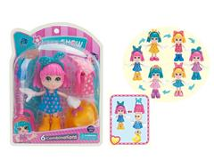 6inch Princess Set(3C) toys