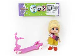 Doll & Scooter toys