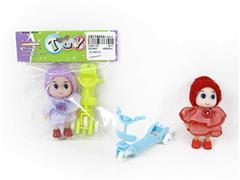 Doll & Scooter(2C) toys