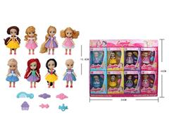 5.5inch Princess(8in1) toys