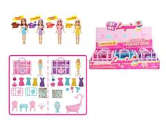 Doll Set(9in1) toys