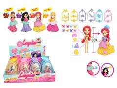 3.5inch Princess Set(16in1) toys