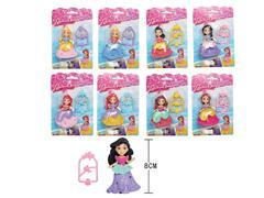3.5inch Princess toys