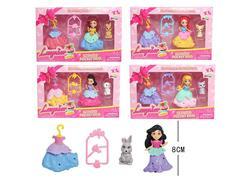 3.5inch Princess Set toys