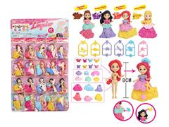 3.5inch Princess Set(20in1) toys