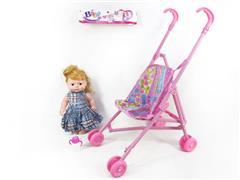 10inch Doll & Go-Cart toys