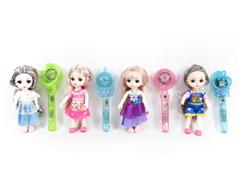 6inch Solid Body Doll & Magic Stick toys