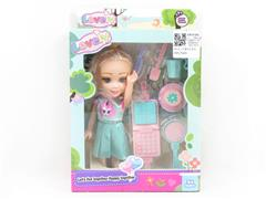 6inch Solid Body Moppet Set toys