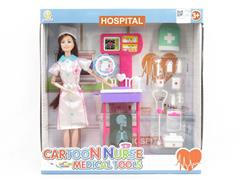 Solid Body Doll Set(2S) toys