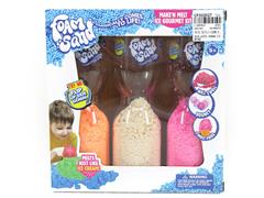 Expanded Snowflake Sand(3in1) toys