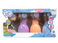 Expanded Snowflake Sand(4in1) toys