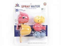Water Ladle & Latex Animal toys