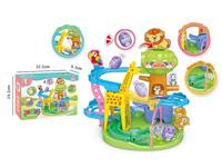 Zoo Somersault Slide toys