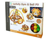 Baby gift baby playmat activity gym with ball toys