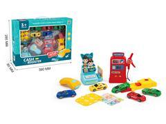 Gas Station Set W/L_S toys