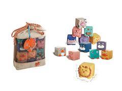 Puzzle Soft Glue Animal(12PCS) toys