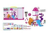 LOL toys assemble park toys amusement pack toys
