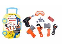 Tools set, child learning toy, plastic tool set, gift for boy toy set(12in1)