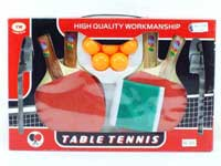 Wooden Ping-pong Set(2in1)