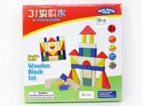 Wooden Blocks(31pcs)