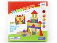 Wooden Block(31pcs)