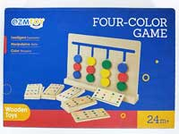 Wooden Four-color Game