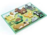 Wooden Animal Track