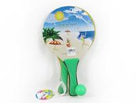 Wooden Sand Racquet toys